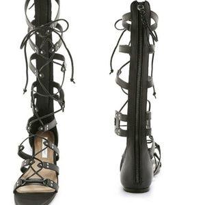 Cynthia Vincent Frankie Tall Gladiator Sandal